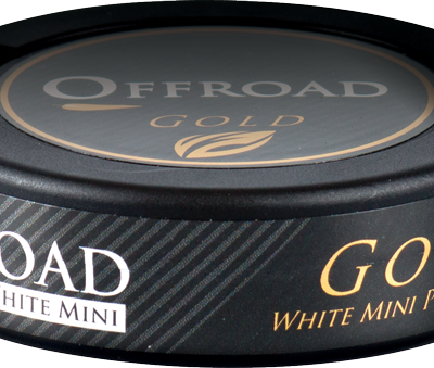 Offroad Gold White Mini 10 dosor