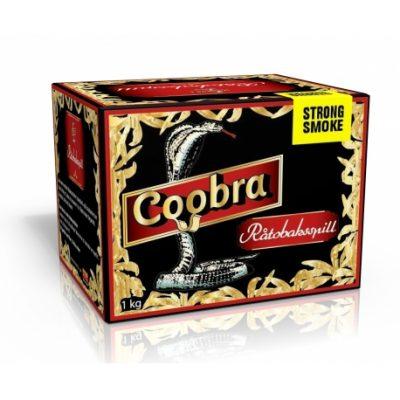 Coobra Röd - Råtobaksspill Stark Smoke - 1KG