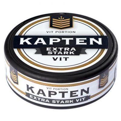 Kapten Extra Stark Vit Portion